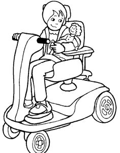 macaroni and cheese coloring page the girl disabilities coloring page