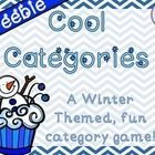 Free! Cool Categories! Contents: 32 category cards and 8 game cards. (8 of the category cards are 'easier' broad categories, the remaining 24 are narrower categories). 1 game board.