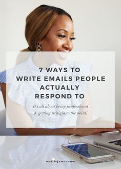 Learn how to write emails that people will look forward to reading & even reply!