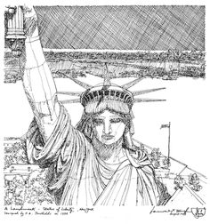 Statue of Liberty by Sikh Artist K.P. Singh. Visit his website at: http://www.kpsinghdesigns.com