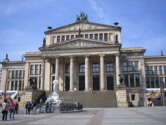 Berlin Opera House, there with BBC SC ina Concert for its re-opening in the 1980s.