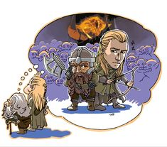 illustration for an article at cinemags magazine about old days of gimli and legolas artist: tyo ►lineart ari ►color client: Cinemags magazi. Old gimli and legolas Fellowship Of The Ring, Lord Of The Rings, Legolas Und Gimli, Concerning Hobbits, O Hobbit, Fantasy Books, Middle Earth, Superwholock, Tolkien