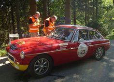 MGC GT .. Shackleton / Worts .. 2012 Liege . Rome . Liege rally .. Finished 21 o/h.