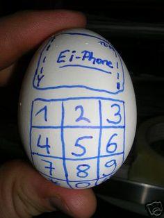 Ein Ei-Phone