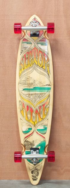 "Sector 9 44"" Peru Bamboo Longboard Complete - I have this one. =)"