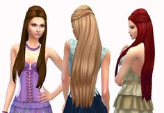 Pure Hair at My Stuff via Sims 4 Updates