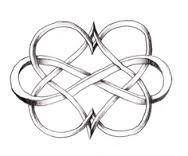 celtic love hearts tattoo design - Google Search