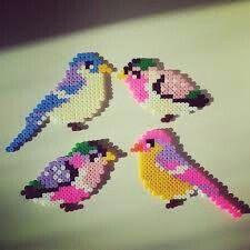 Bird Perler Bead
