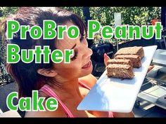ProBro Healthyfood - Peanut Butter Cake by Anja Zeidler, mit Produkten von active12.com