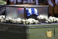 Carroza fúnebre con restos de Fidel Castro se accidentó