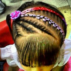 Hair Styles, Beauty, Child Hairstyles, Girls Braids, Artistic Make Up, Bias Tape, Hairstyle, Hair Plait Styles, Hair Makeup