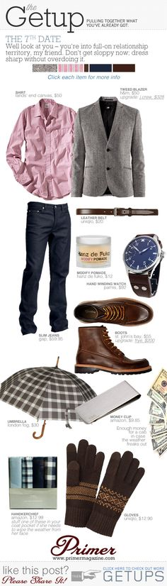 The Getup for a perfect winter date..