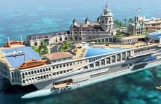 Yacht Island Design   As luxury yachts go this will be up there with the best.
