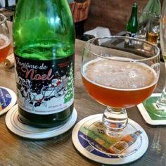 Cerveja Fantôme de Noël, estilo Saison / Farmhouse, produzida por Fantôme, Bélgica. 10% ABV de álcool.