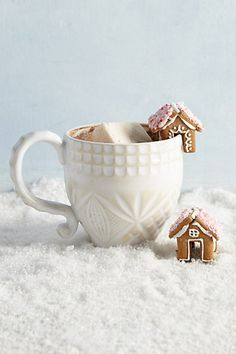 Home Sweet Home Mug Toppers #anthropologie