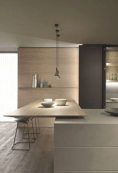 Functionality and design hand in hand. A Blade Modern Kitchen Design Blade Design Function Functionality hand : Functionality and design hand in hand. A Blade Modern Kitchen Design Blade Design Function Functionality hand Interior Modern, Modern Kitchen Interiors, Interior Design Kitchen, Interior Architecture, Minimal Kitchen Design, Modern Kitchen Designs, Japanese Interior Design, Coastal Interior, Eclectic Kitchen