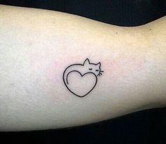 50 Cute Heart Shape Tattoo Designs You Can't Handle it - Page 4 of 50 - Tattoo's✨ - Little Tattoos, Mini Tattoos, Trendy Tattoos, Love Tattoos, Beautiful Tattoos, Body Art Tattoos, Small Tattoos, Tattoos For Women, Tatoos