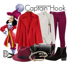 Captain Hook by Disney Bound