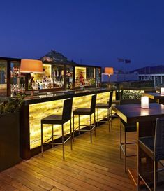 GB Roof Garden Restaurant and Bar at the Hotel Grande Bretagne, Athens