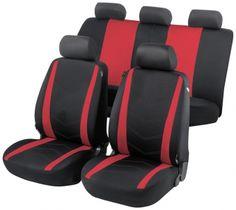 Autositzbezug Dhabi rot