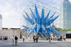 """""""Wendy"""" winner of this year's Young Architects Program at MoMa."""