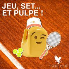 Qui dit mois de mai, dit aussi Rolland Garros ! Forever Aloe, Forever Living Products, Aloe Vera, Challenges, Dit, Sport, Health, Gaming, Deporte