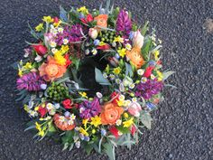 Funeral flowers for Dad by Jane Farthing