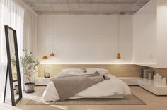 Roohome.com - What kind of design that you want to apply for your bedroom? Here we have a variety of minimalist bedroom ideas which you can choose. As we know that bedroom is becoming the best part at home which can we use for taking a rest. If we are lazy ...