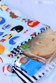 Kids Lunch Box to Sew