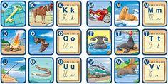 Výsledok vyhľadávania obrázkov pre dopyt abeceda-pexetrio Alphabet, Album, Education, Puzzle, Alpha Bet, Riddles, Educational Illustrations, Learning, Puzzles