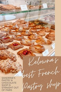Kelowna's Best French Pastry & Chocolate Shop Kelowna's Best French Pastry & Chocolate Shop. Kelowna, BC, Canada has so many specialty shops and this one is a must-visit for all things authentic French pastry and chocolate! Chocolate Shop, Chocolate Pastry, Canadian Food, Pastry Shop, Food Places, Polish Recipes, Almond Cakes, Cafe Food, French Pastries