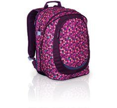 Plecak młodzieżowy w oryginalnym designie. Fioletowy motyw przeznaczony dla dziewczyn. Bardzo pojemny!