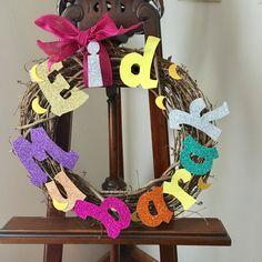 DIM (did it myself) Eid 2017 wreath