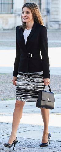 7 Nov 2016 - Queen Letizia attends International Symposium on Carlos III
