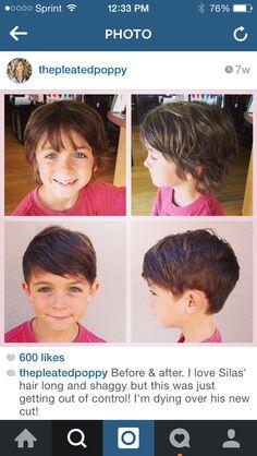 Little boy haircut Cute Boys Haircuts, Boy Haircuts Long, Little Boy Hairstyles, Toddler Boy Haircuts, 2015 Hairstyles, Haircut Long, Boy Shaggy Haircut, Boys Longer Haircuts, Boys Surfer Haircut