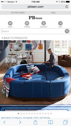Delightful Circular Couch Bed
