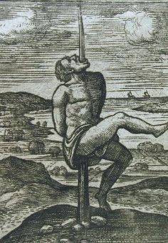 Pfählung um 1593