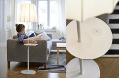 IKEA Releases New Furniture Collection, Promises Better Living Through Wireless Power Smart Furniture, Ikea Furniture, Girls Apartment, Ikea New, Ikea Decor, Bed Table, Lamp Table, Smart Home, Floor Chair