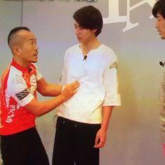 """[Vine] https://vine.co/v/i0i5JvYgqAm       Kento Yamazaki's fainting in agony, TV show """"Oshare-ism"""", May/15/2016"""