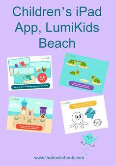 The Book Chook: Children's iPad App, LumiKids Beach
