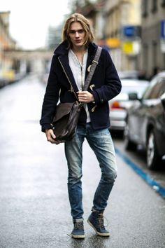 Men's street style, Ton Heukels
