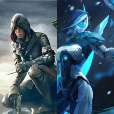Assassin' creed & League of the legends 🌸❤