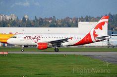 Photo of ROU Airbus A319 (C-FZUG) ✈ FlightAware