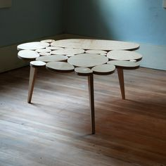 Modern Coffee Table SALE Medium Size Natural by michaelarras. $399.00, via Etsy.