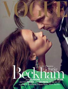 Victoria & David Beckham for Vogue Paris January 2014