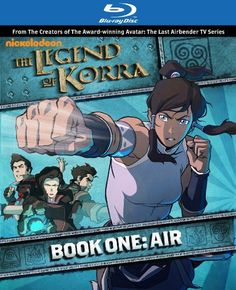 The Legend of Korra: Book One: Air - coming to BluRay the phenomenal first season. I have to get this! :O