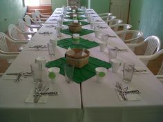 Decoración de mesa/smicasadetodo Table Settings, Table Decorations, Furniture, Home Decor, Recycled Materials, Mesas, Manualidades, Decoration Home, Room Decor