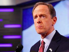 Pennsylvania's Republican senator won't say if he's voting for Donald Trump