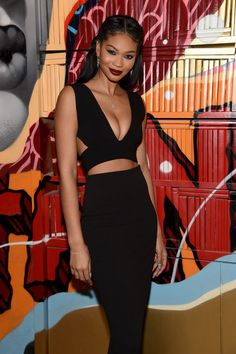 Model Chanel Iman attends the VANDAL Grand Opening in New York City on January 15, 2016 in New York City.