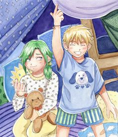 Young freed and laxus. Fairy tail